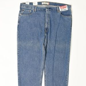Levis  Big & Tall 44 Blue 44x29 550 Cotton solid